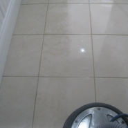 sparkling clean tile from allcare carpet and floor services